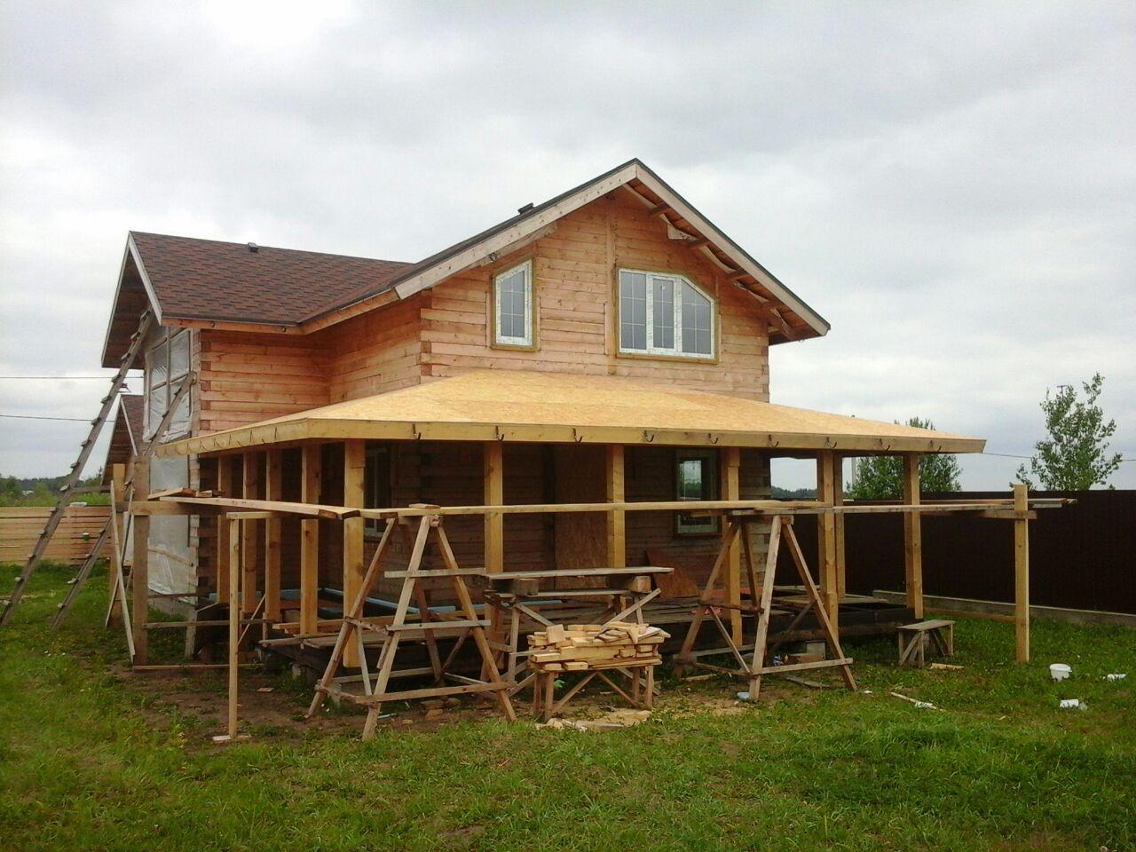 Построить теплую веранду к дому своими руками фото 335