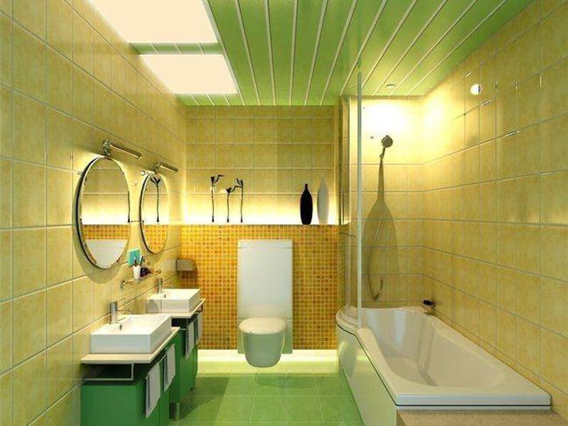Отделка стен в ванной комнате панелями пвх своими руками 27