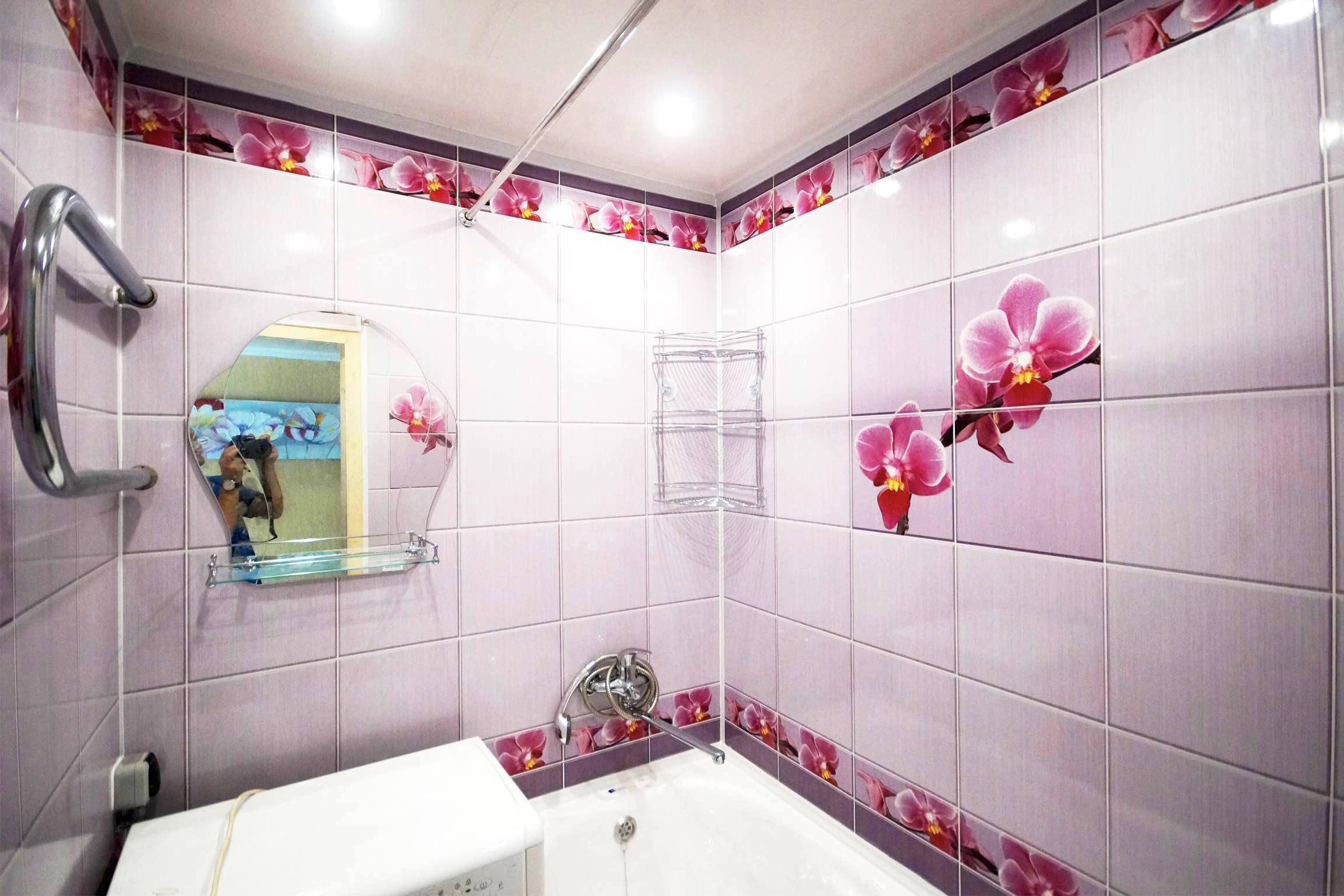 Размер панелей пвх для стен в ванной