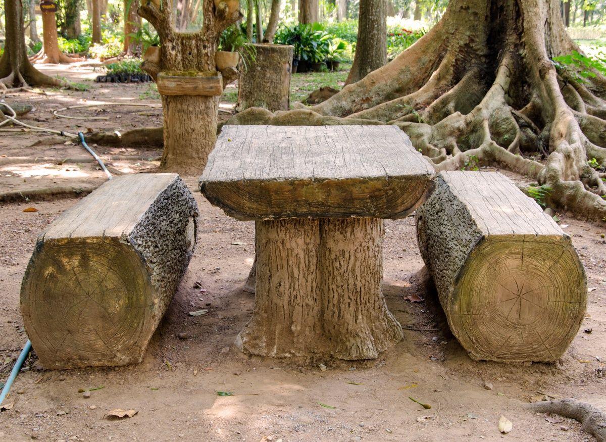 Фото поделок из деревьев