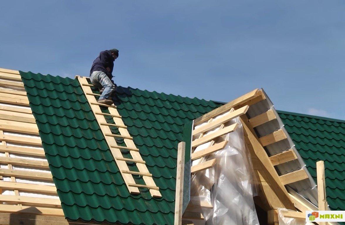 Покрытие крыш домов своими руками 59