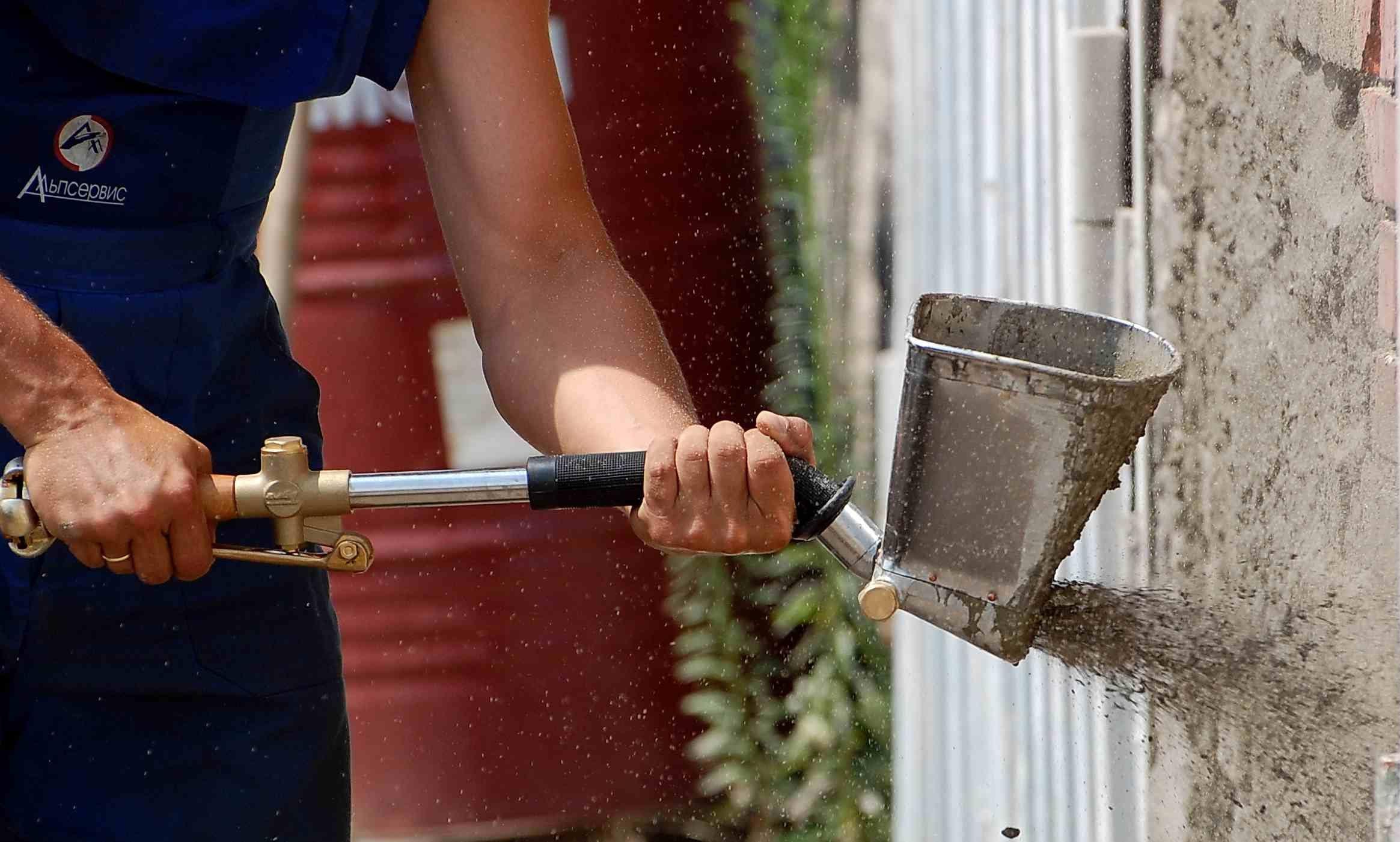 Хопер лопата для штукатурки своими руками