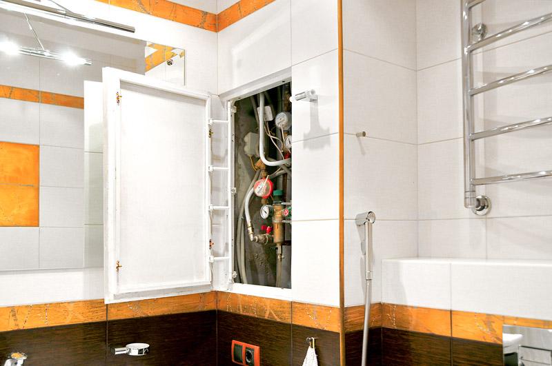 Как сделать короб для труб в ванной