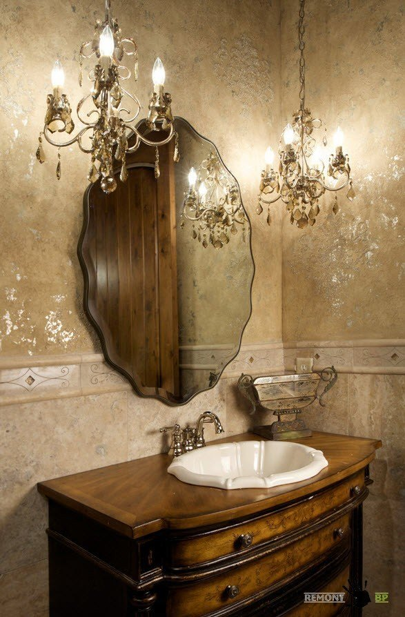 Светильники для зеркала в ванной как выбрать и установить