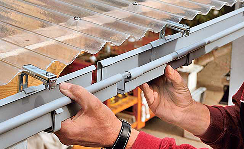 Стек с крыши для воды своими руками 96