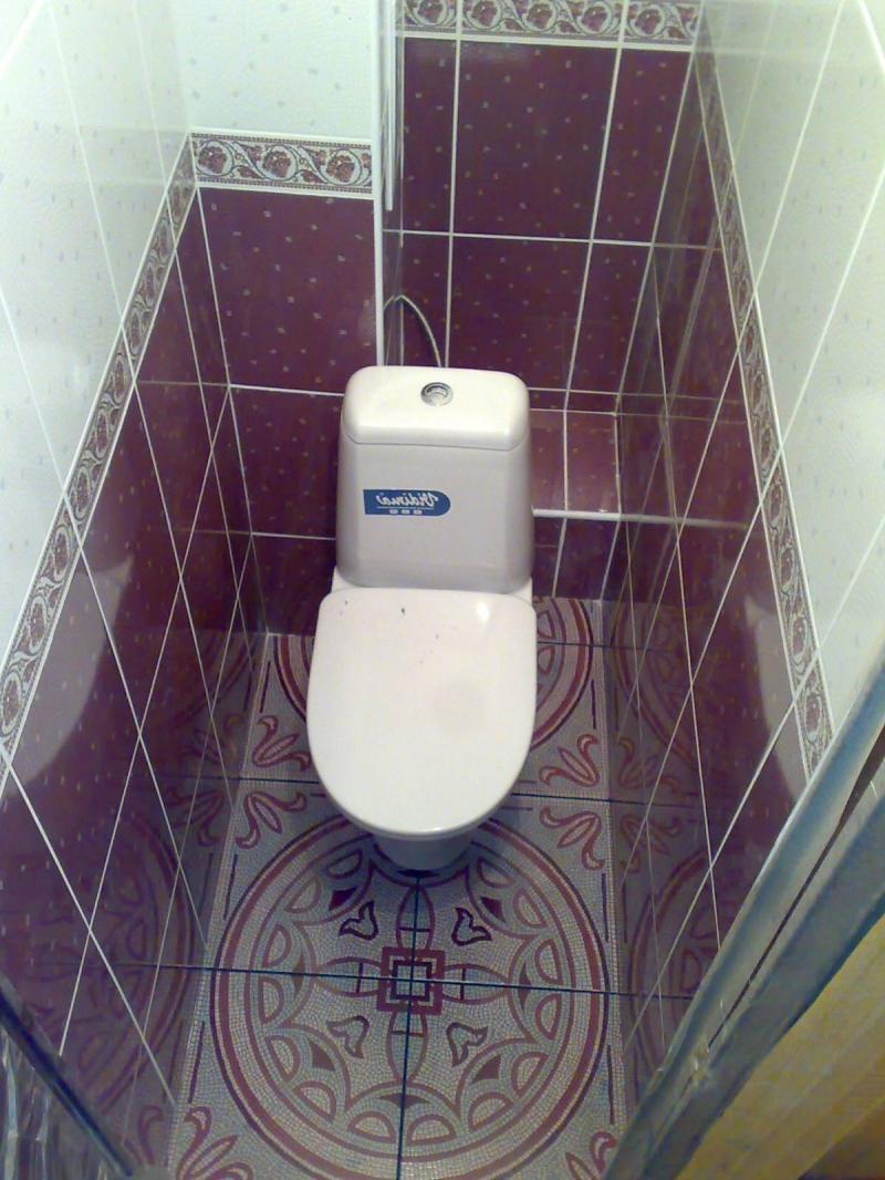 Ремонт туалета своими руками с пластиковыми панелями фото фото 918