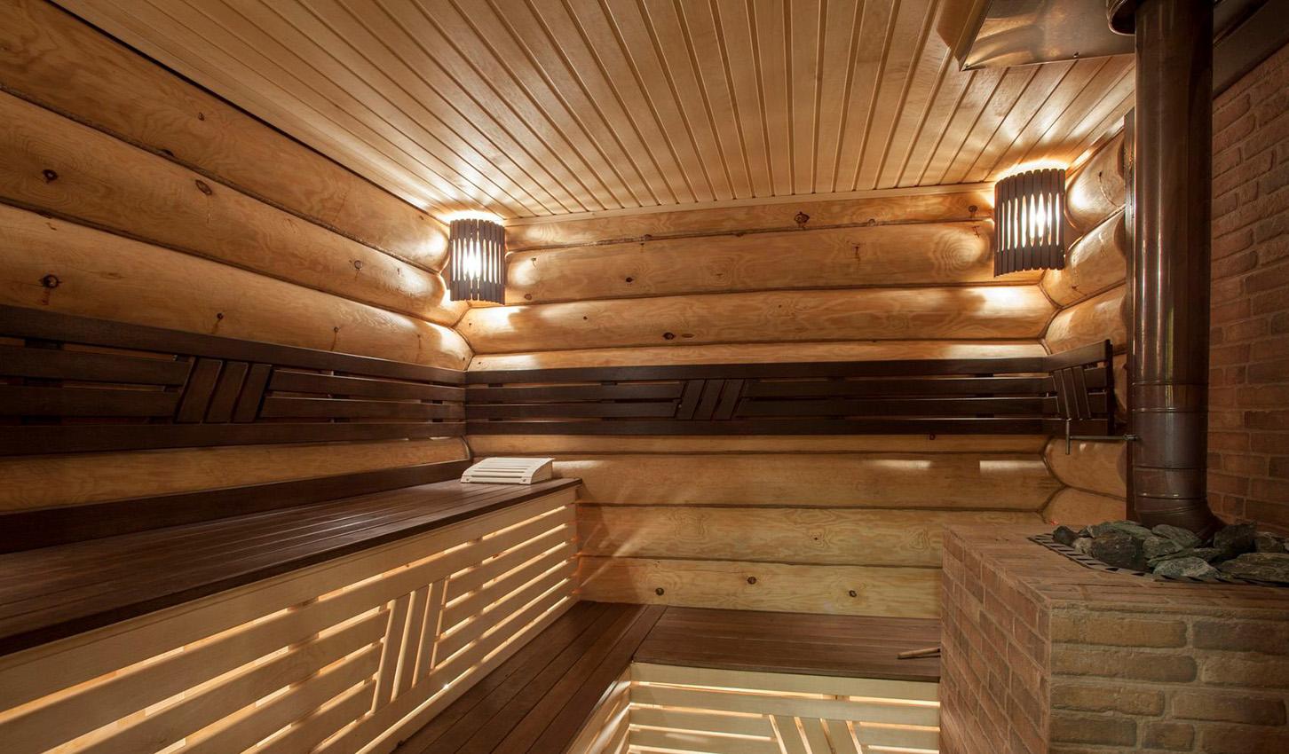 Фото отделки бани внутри вагонкой своими руками