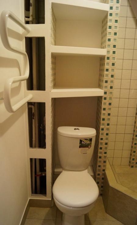 Как сделать шкаф в туалете за унитазом своими руками фото 289