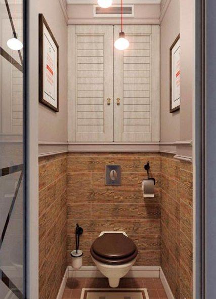Встроенный шкаф в туалет своими руками фото фото 595