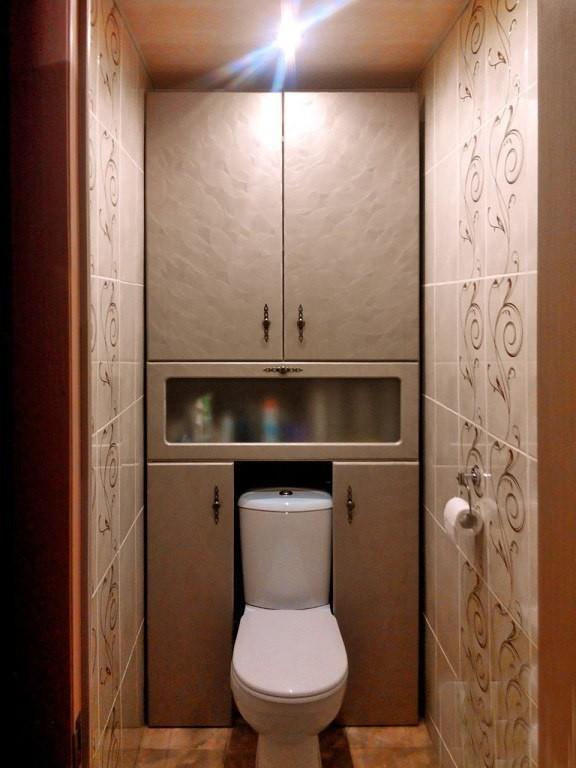 Как своими руками сделать шкафчик в туалете 56