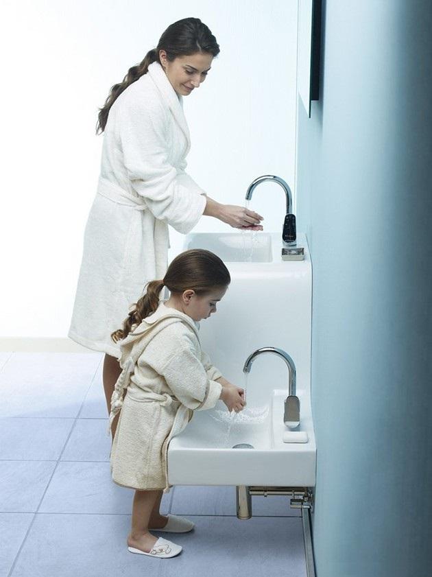 Высота столешницы в ванной для накладной раковины