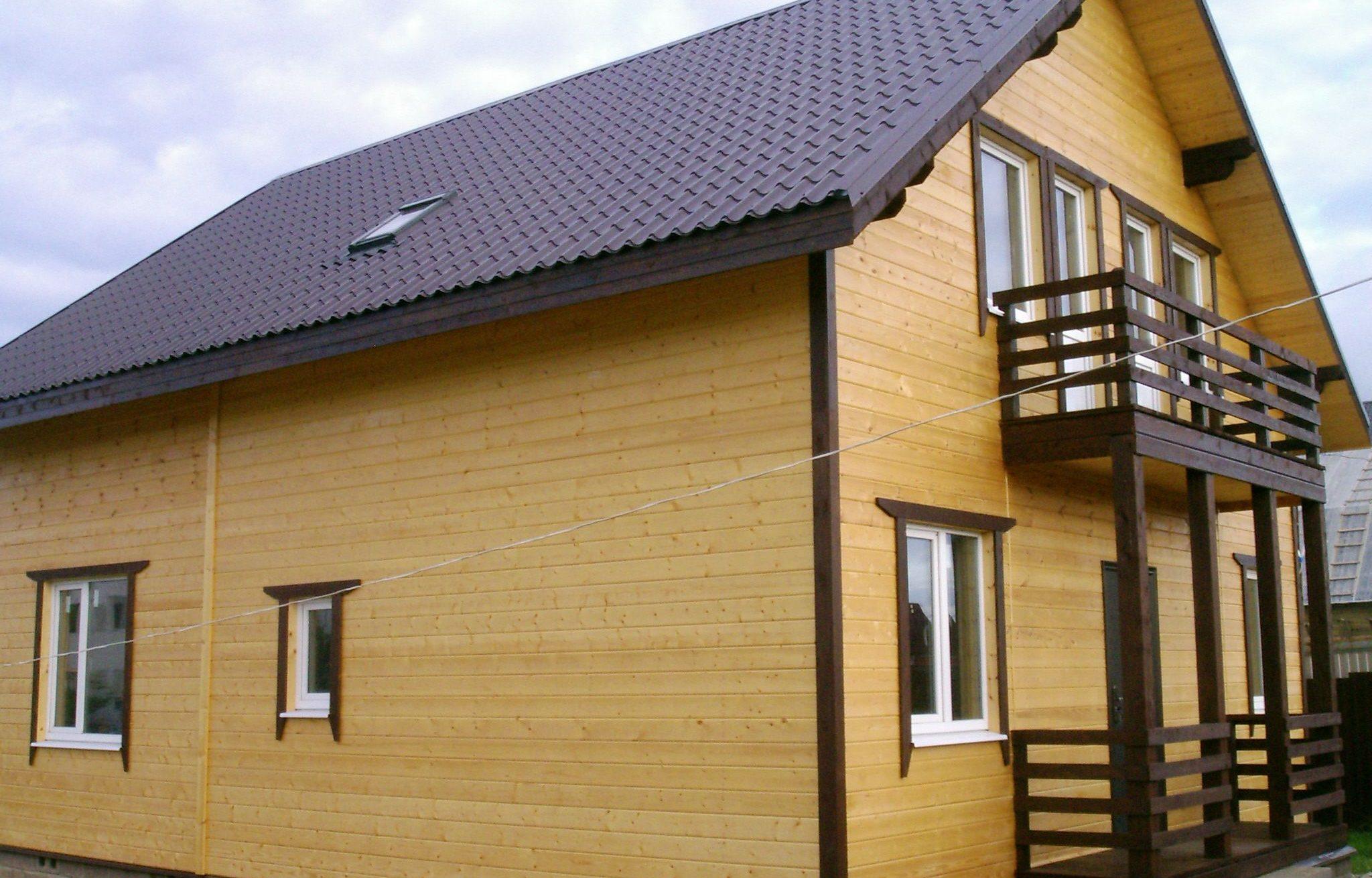Виды отделки фасада частных домов