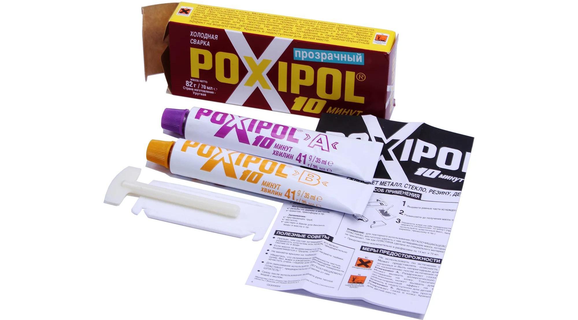 Холодная сварка poxipol (19 фото): инструкция по применению.