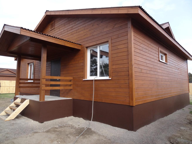 Как правильно обшить дом имитацией бруса снаружи