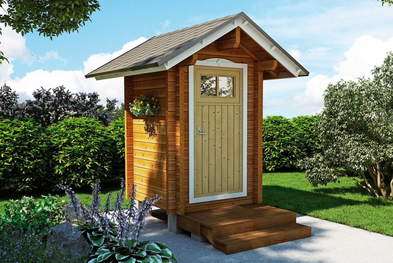 Домик для туалета на даче своими руками фото фото 239