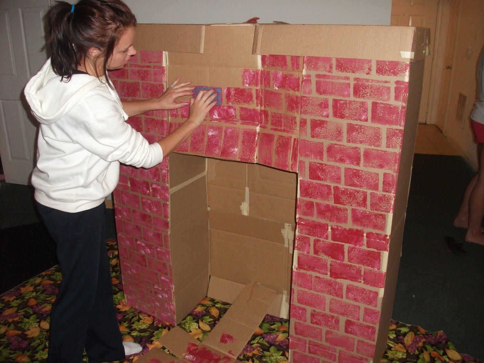 Как сделать камин из коробок своими руками: пошаговое описание лучших идей и советы как сделать красивый и стильный камин (85 фото)