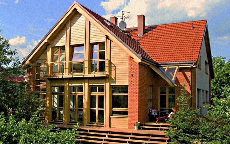 потребуется пристрой к деревянному дому с мансардой фото статье представлены