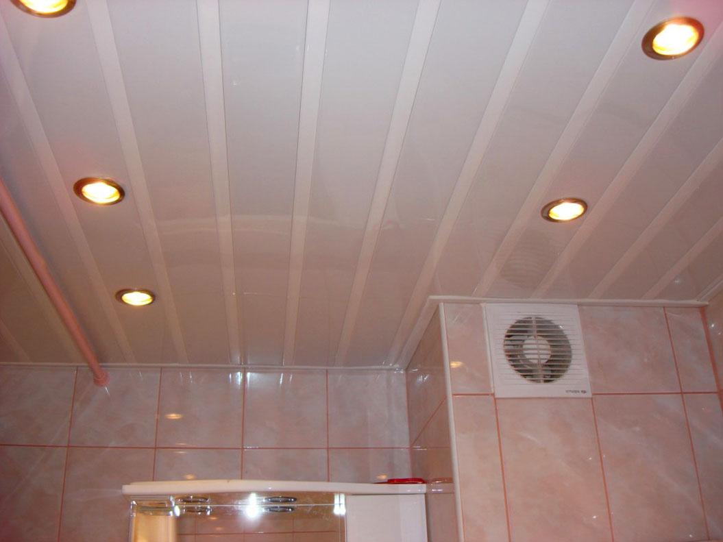 Пластиковые потолки в ванной комнате своими руками фото 491