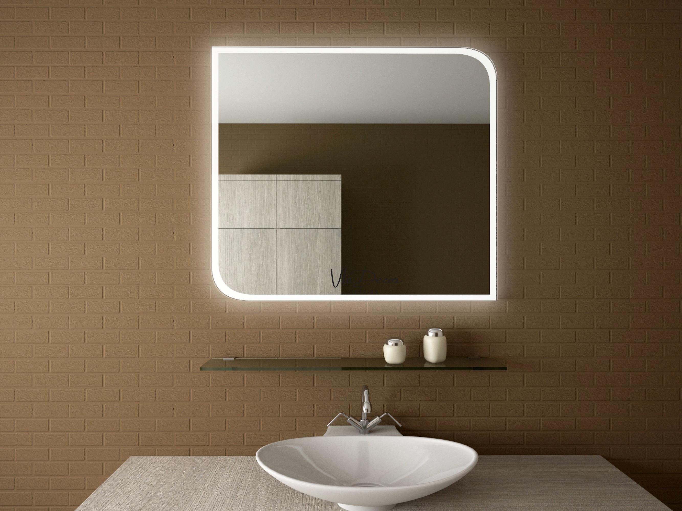 Зеркало в ванную с полками своими руками фото 750