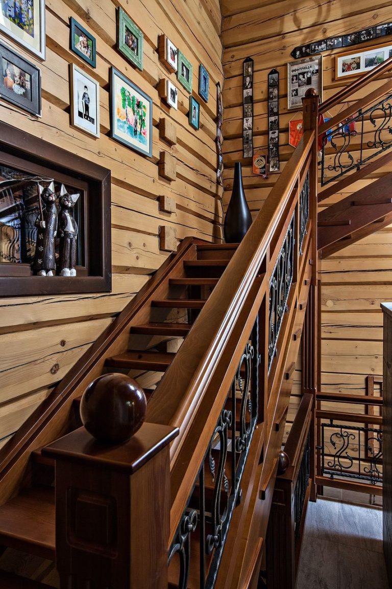 Деревянные лестницы на второй этаж фото вариантов