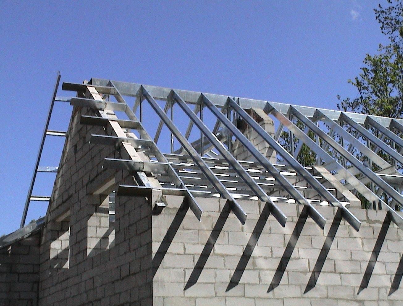 Двухскатная крыша на гараж: обзор конструкции монтажные инструкции 19