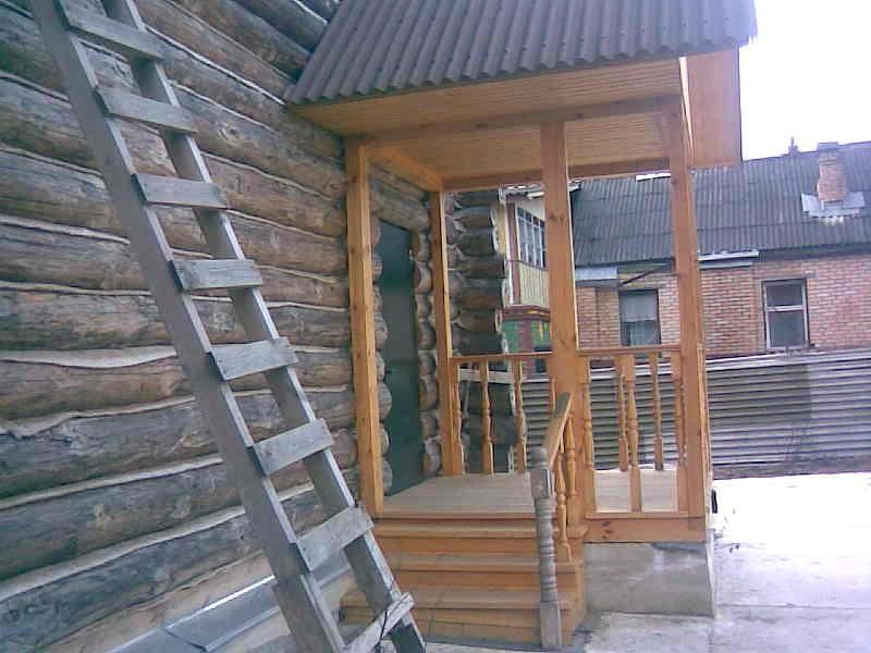 Фото крыльца к деревянному дому фото своими руками 21