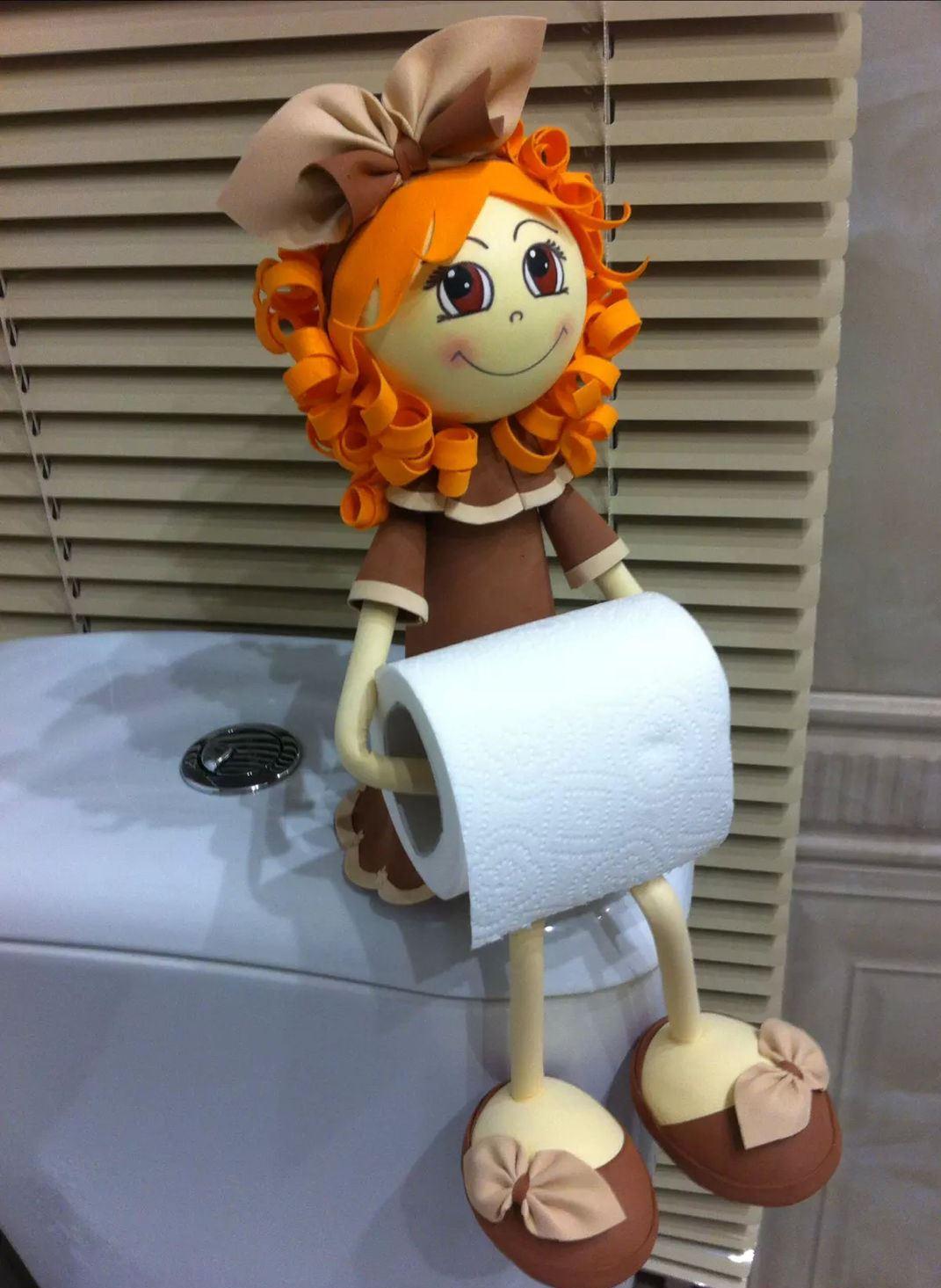 Оригинальный держатель туалетной бумаги своими руками фото 123
