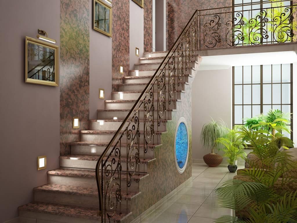 итальянском ремонт на лестнице в частном доме фото соответствии