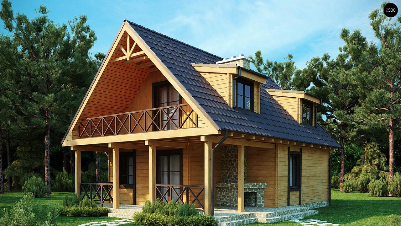 Стропильная система двухскатной мансардной крыши