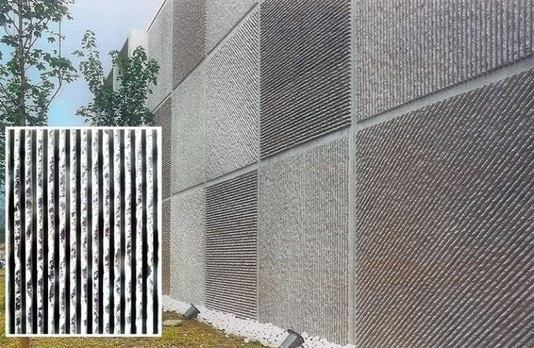 Фибробетон панель бетон край