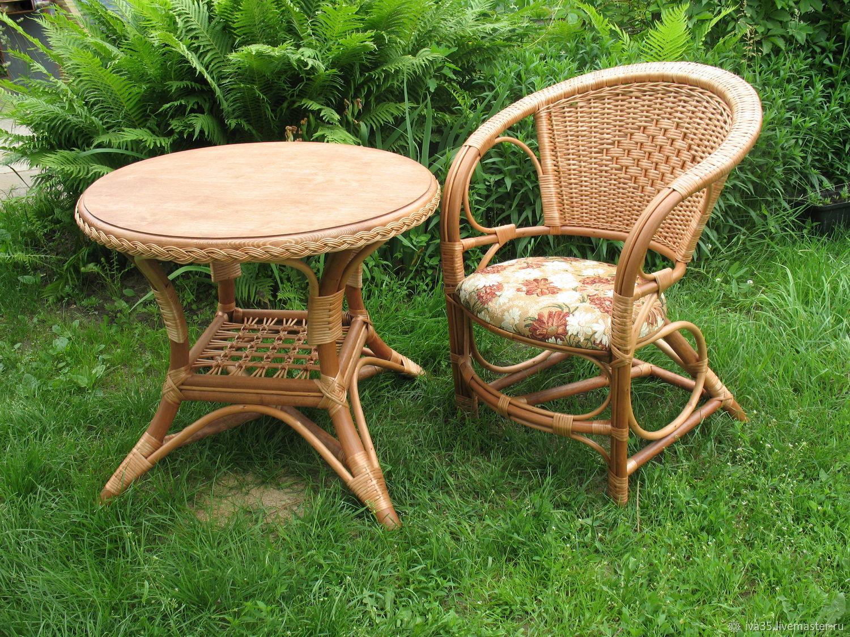Плетеная мебель для дачи своими руками 41
