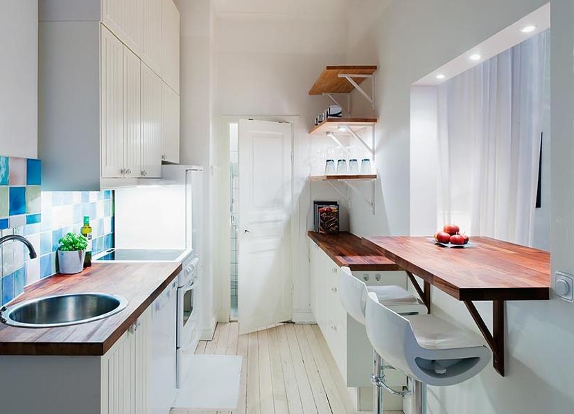 Подоконник-столешница на кухне варианты дизайна