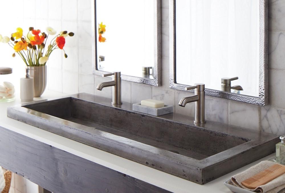 Раковина из бетона - как сделать своими руками?