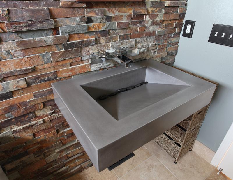 Мойка из бетона бетон скрамтаева