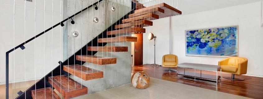Красивые лестницы внутри дома. Какими могут быть лестницы в доме, варианты