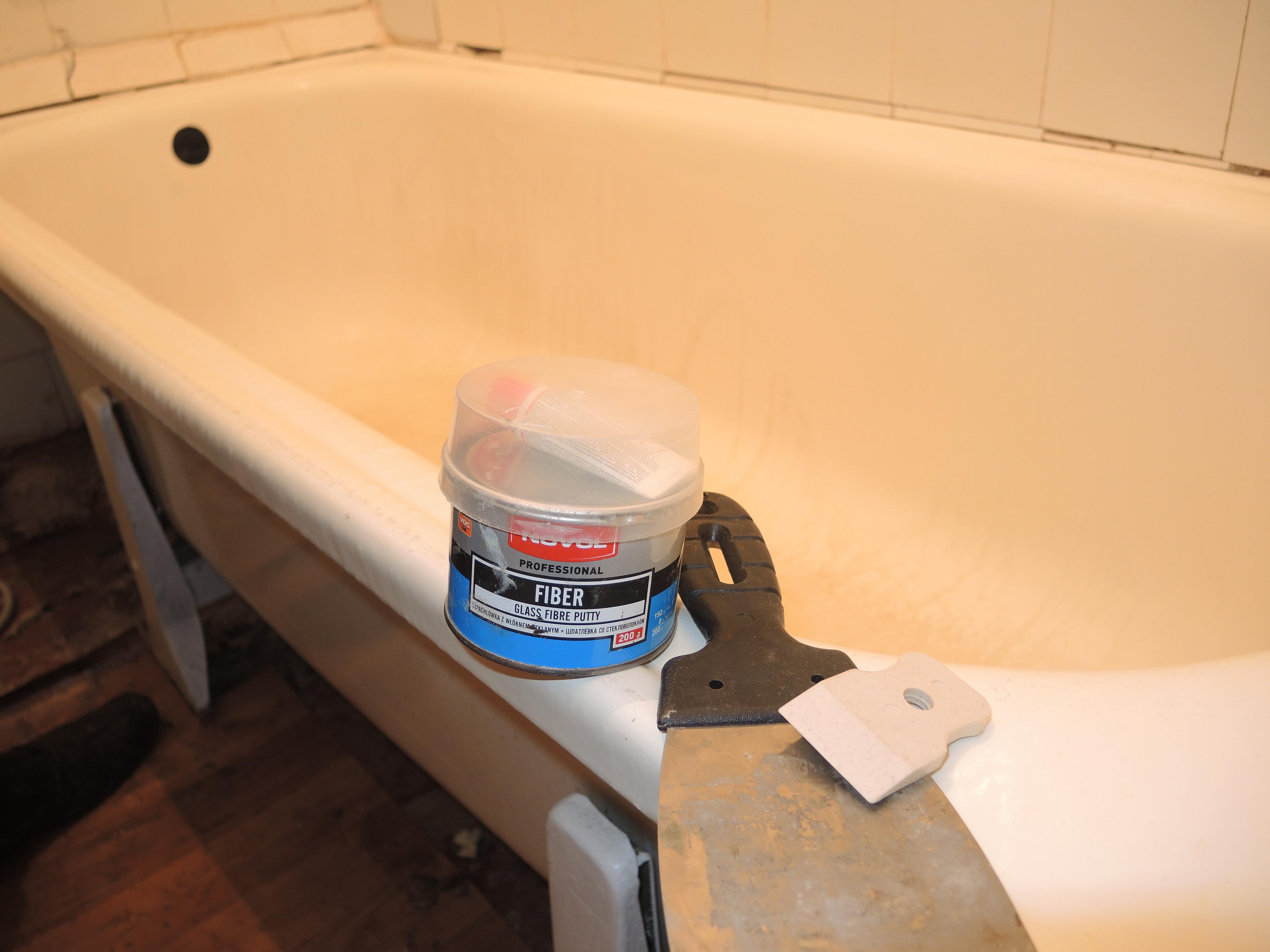 Жидкий акрил для ванн: как реставрировать 65