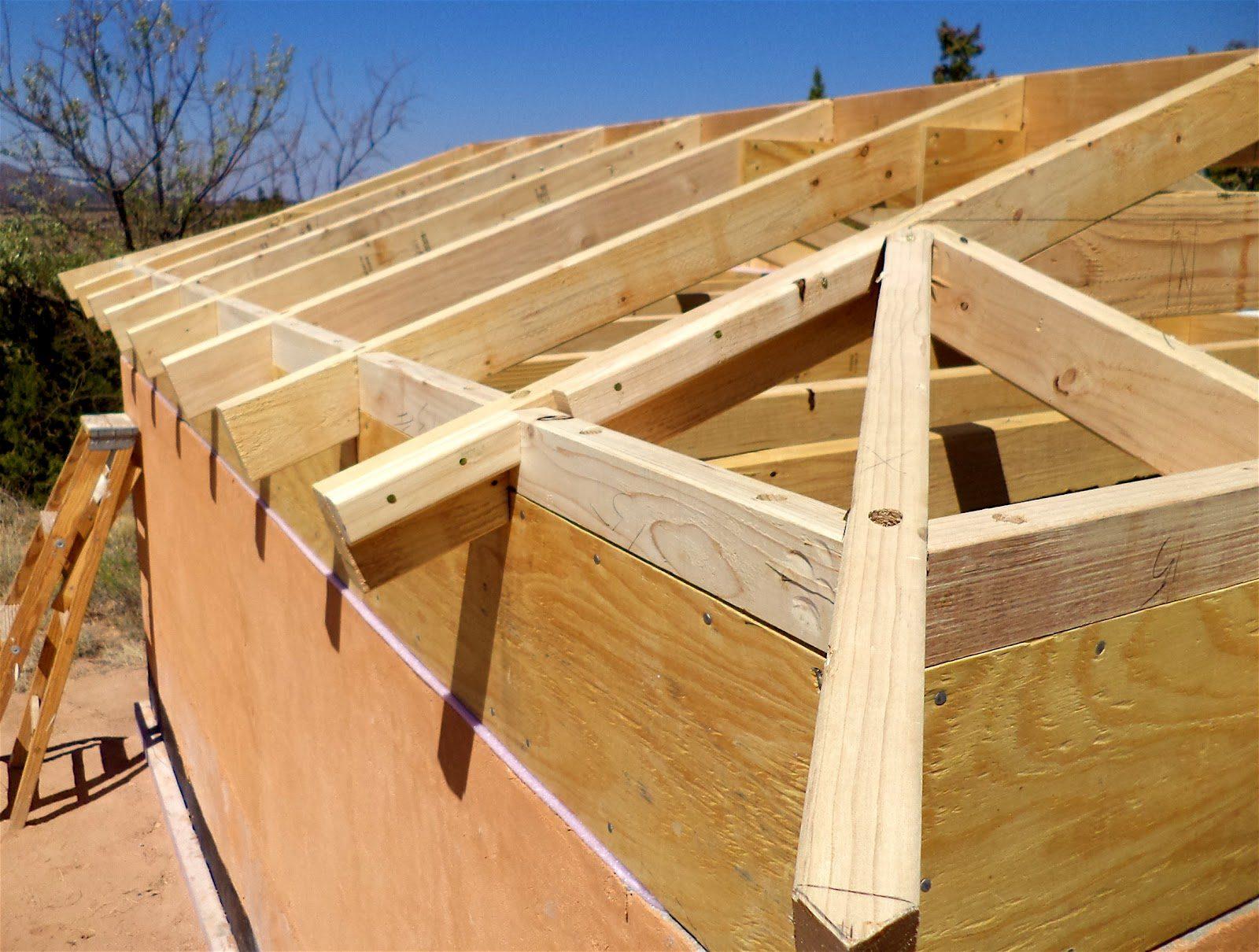 постройка крыши своими руками фото строили подручных