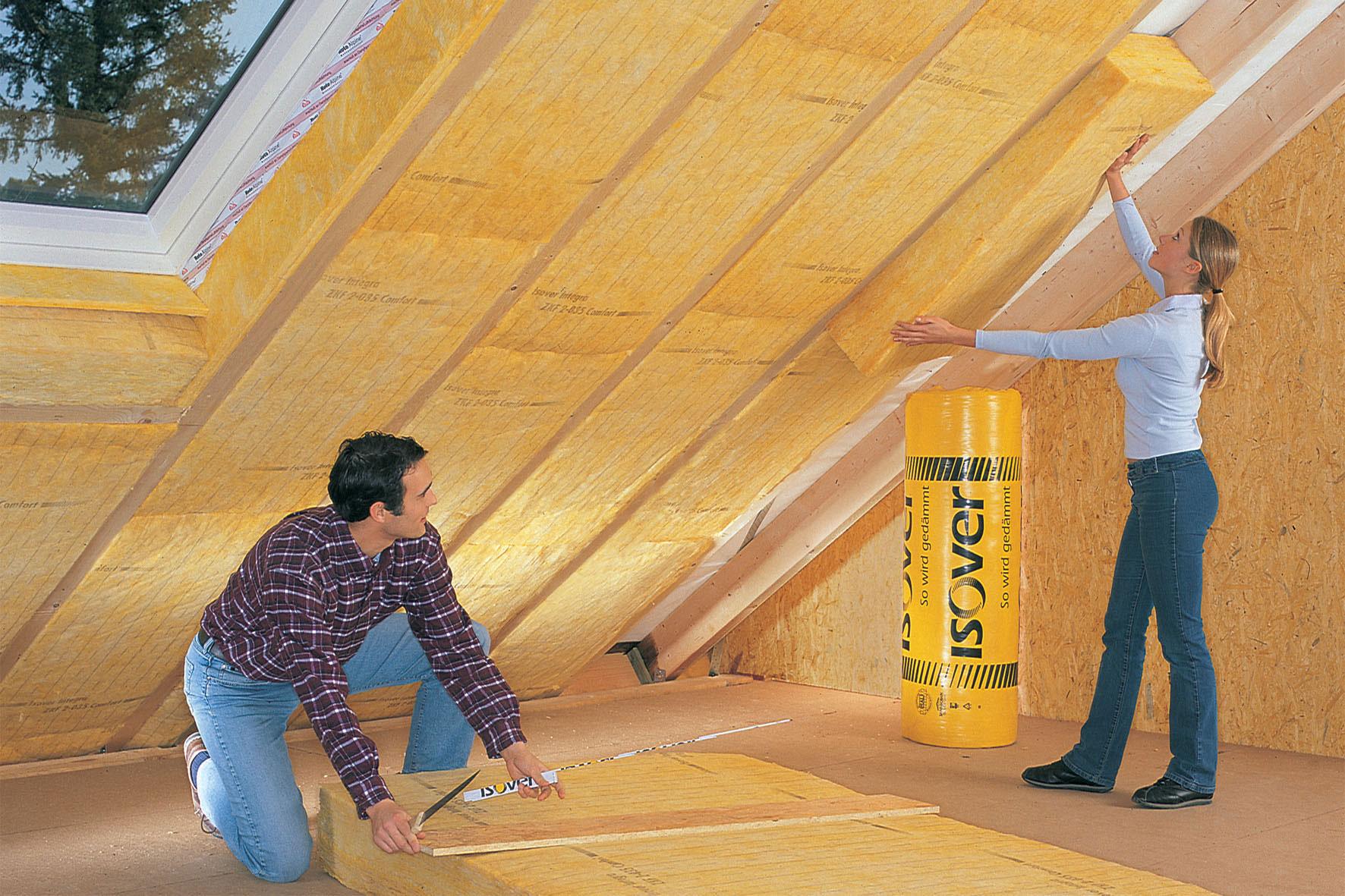 Как утеплять крышу в частном доме