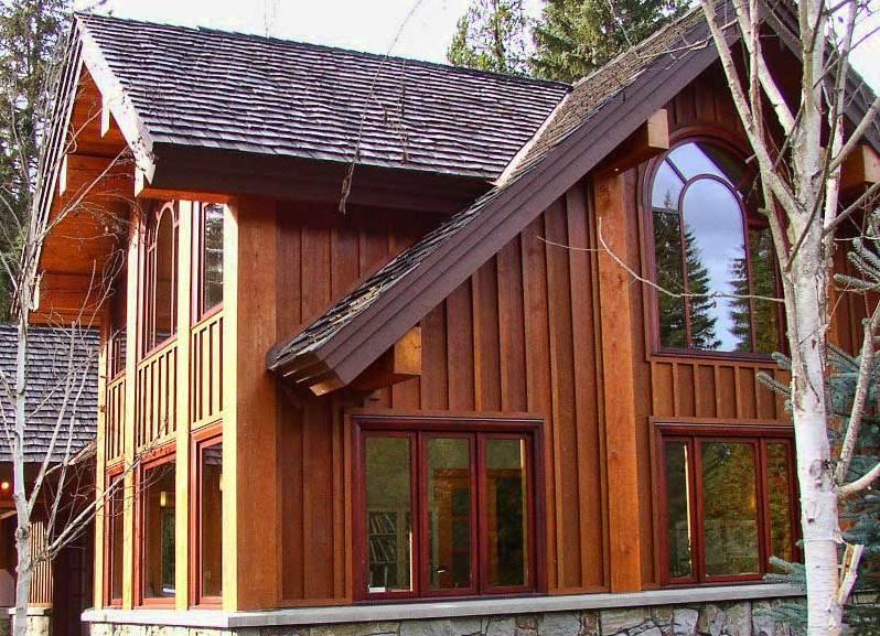 заказать отделка фасада деревянного дома фото такого