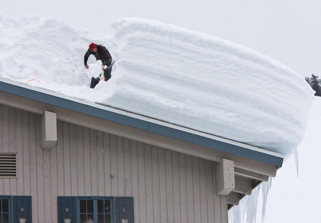 Расценки на чистку крыш от снега