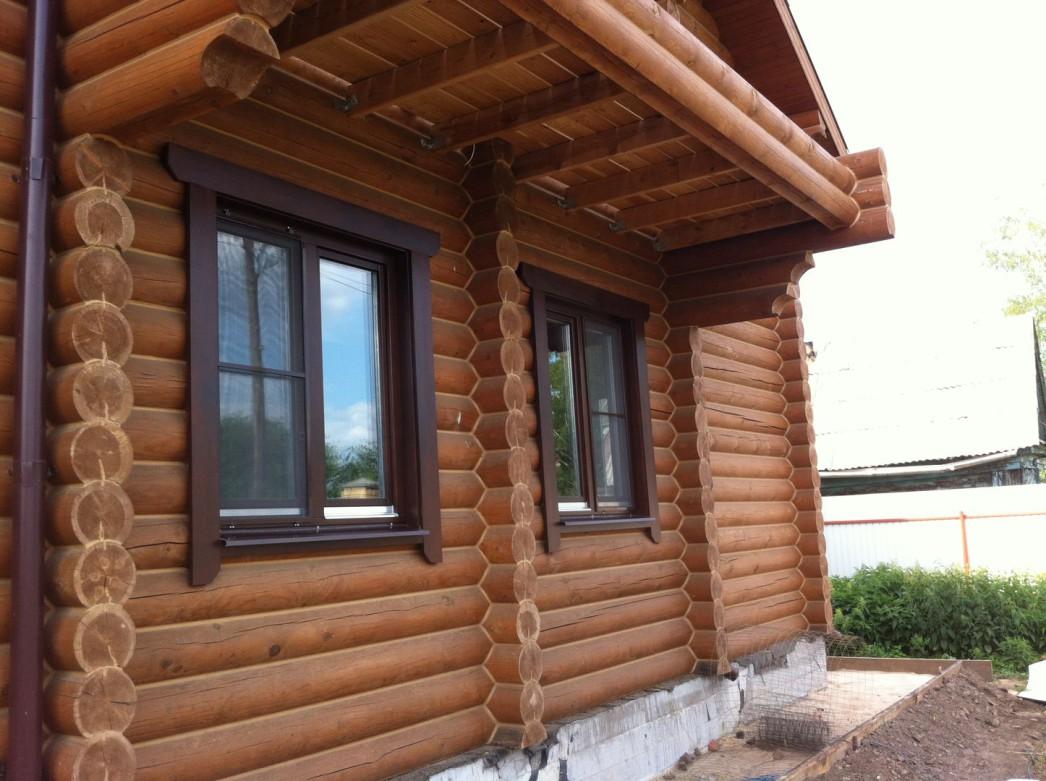 Отделка окон в деревянном доме своими руками фото 353