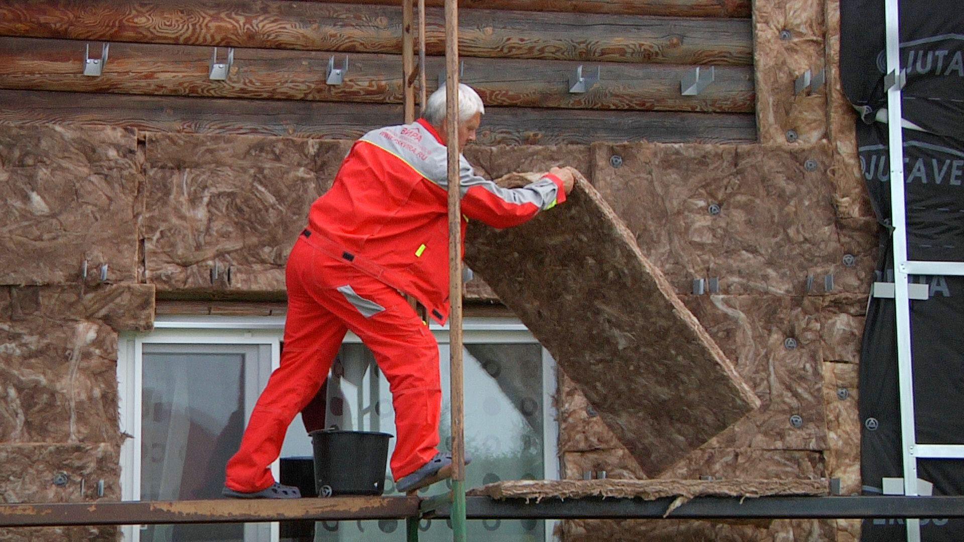 Технология утепления фасада каменной ватой