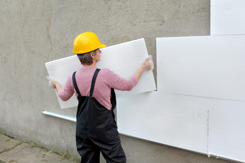 Каменная вата технология утепления фасада