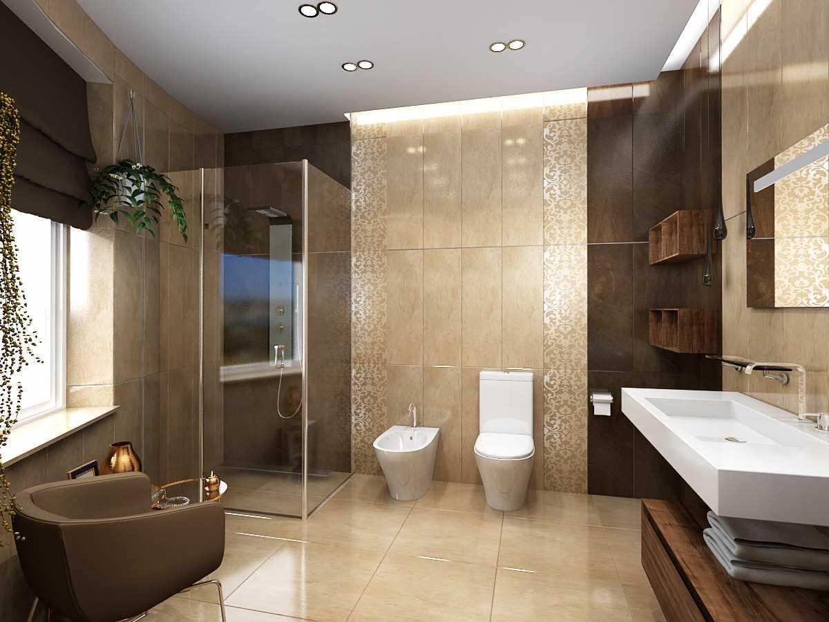 Интересные ванные комнаты