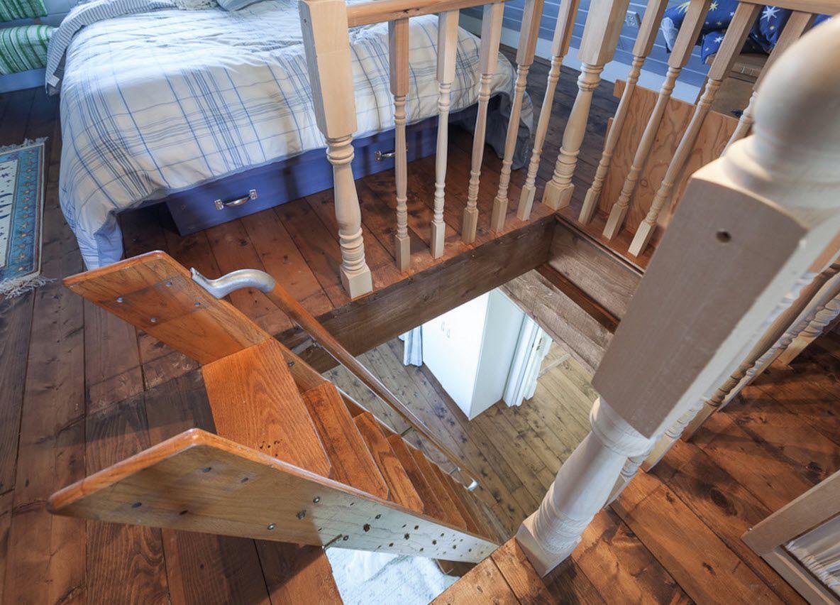Лестница на дачу своими руками размеры фото 393