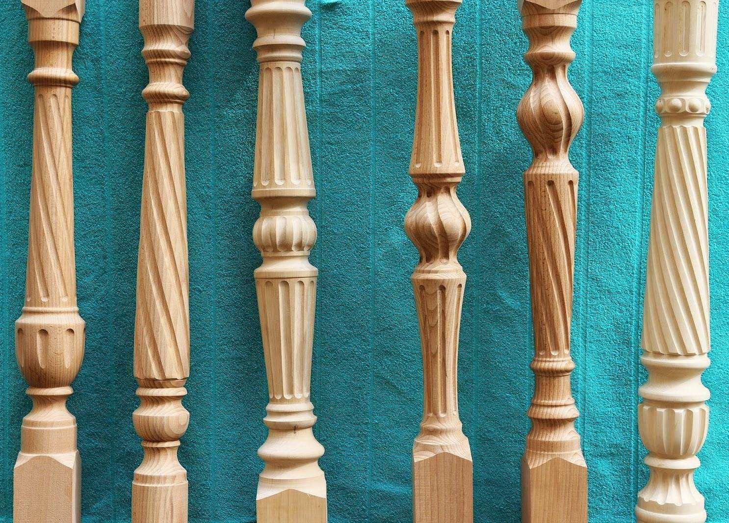 Балясины из дерева любых форм купить от производителя