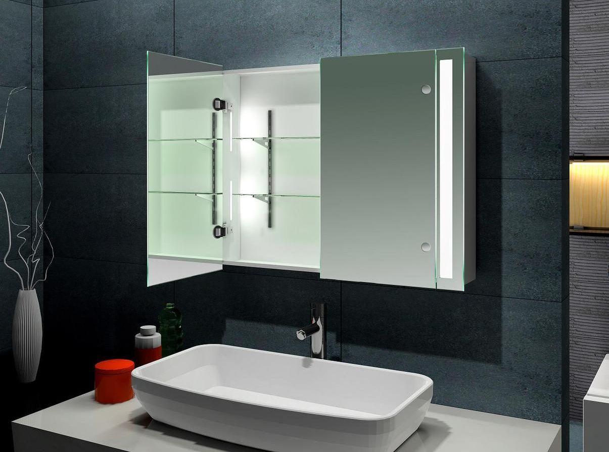 Зеркало в ванную с полками своими руками фото 720