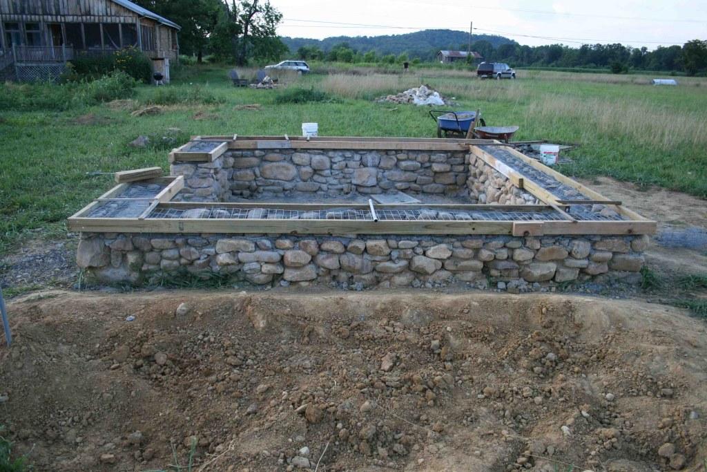 Как сделать фундамент из бутового камня