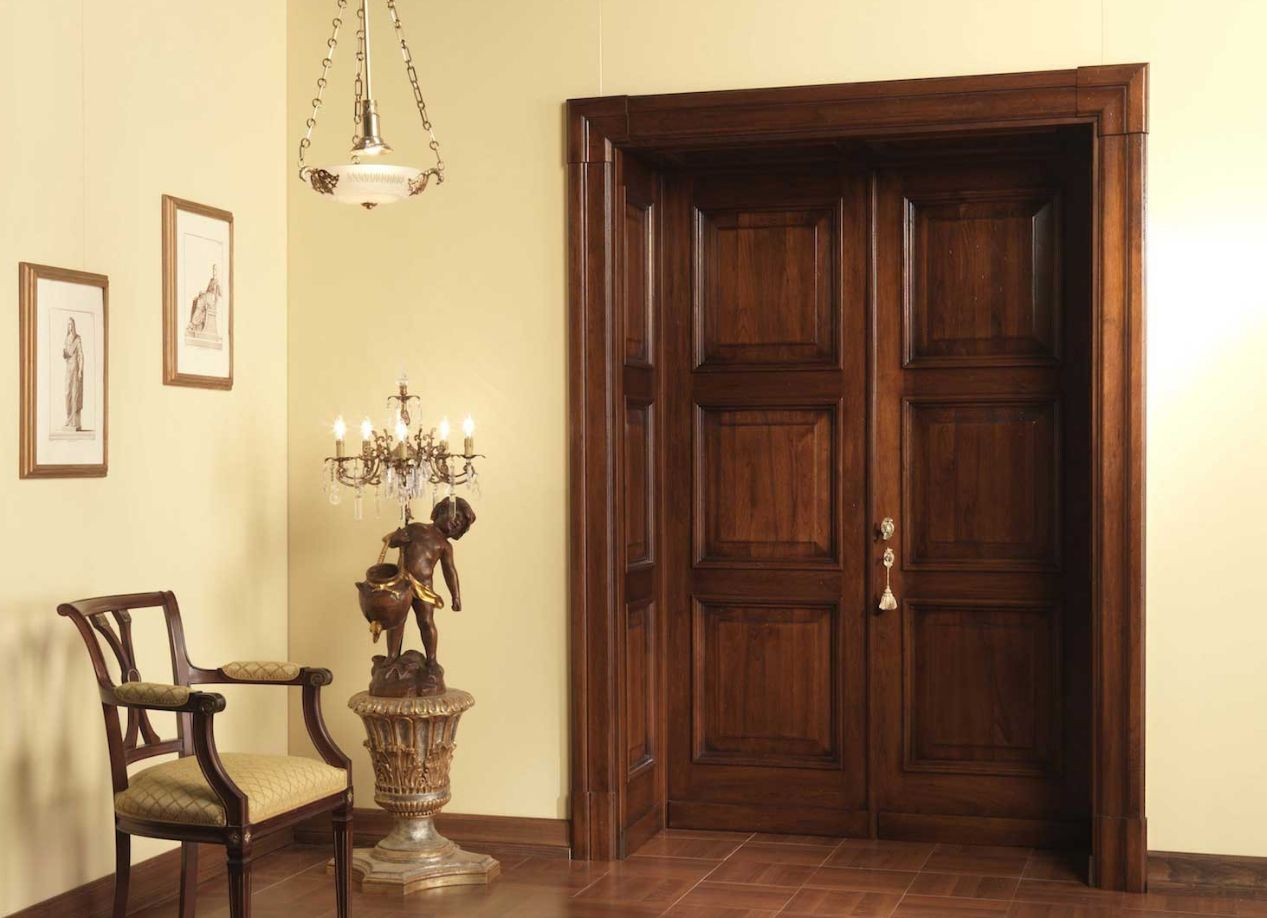 Отделка откосов межкомнатных дверей