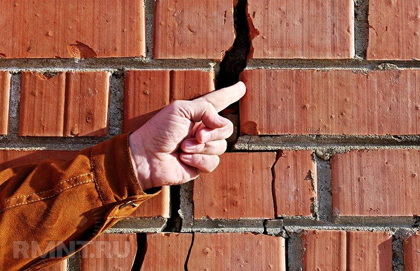 Трещина в стене дома: как определить причину и устранить последствия